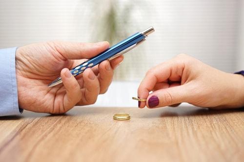 scheiding aanvragen